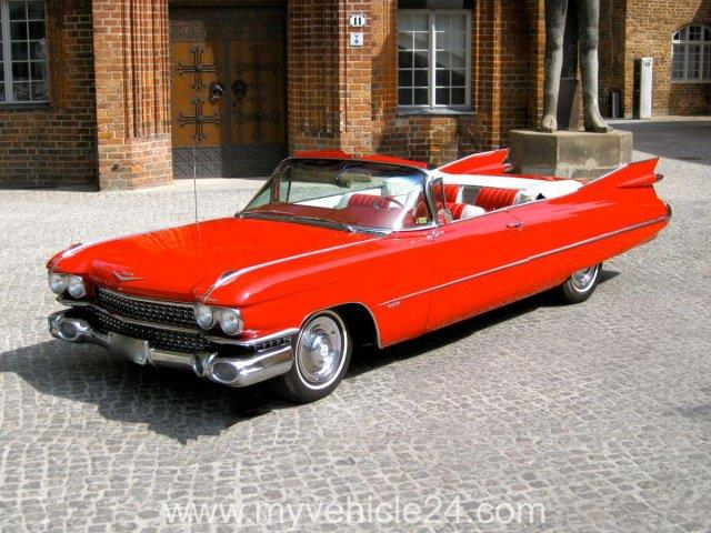 1959 Cadillac Convertible Series 62 - myVEHICLE24 - US - Cars, Classic Cars, Muscle Cars, Boote und Zubehör