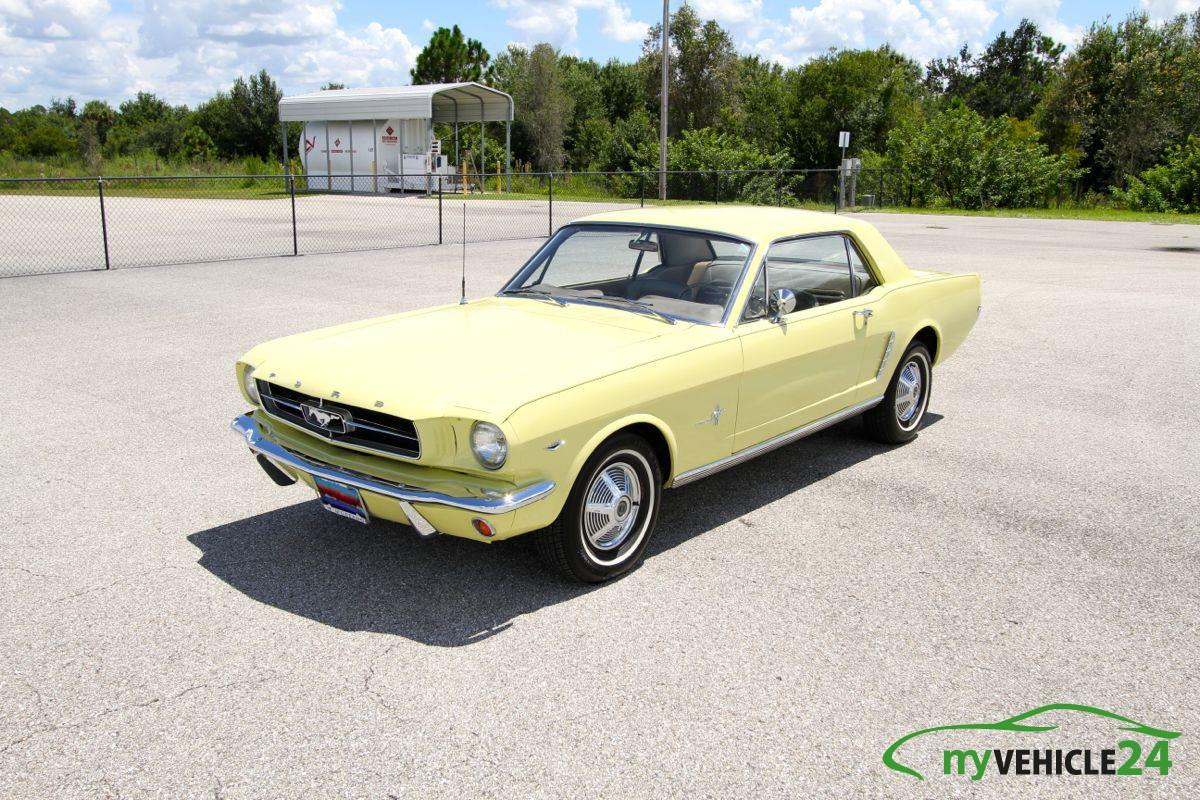 1965 Ford Mustang Coupe - 289 V8 - 077