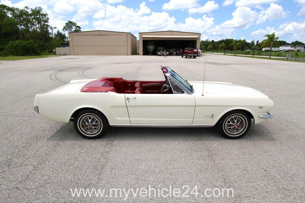1966 ford mustang cabrio original window sticker 048. Black Bedroom Furniture Sets. Home Design Ideas