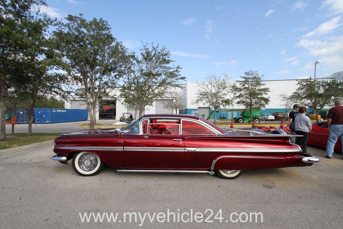 Classic Car Show Germain Arena In Estero Florida