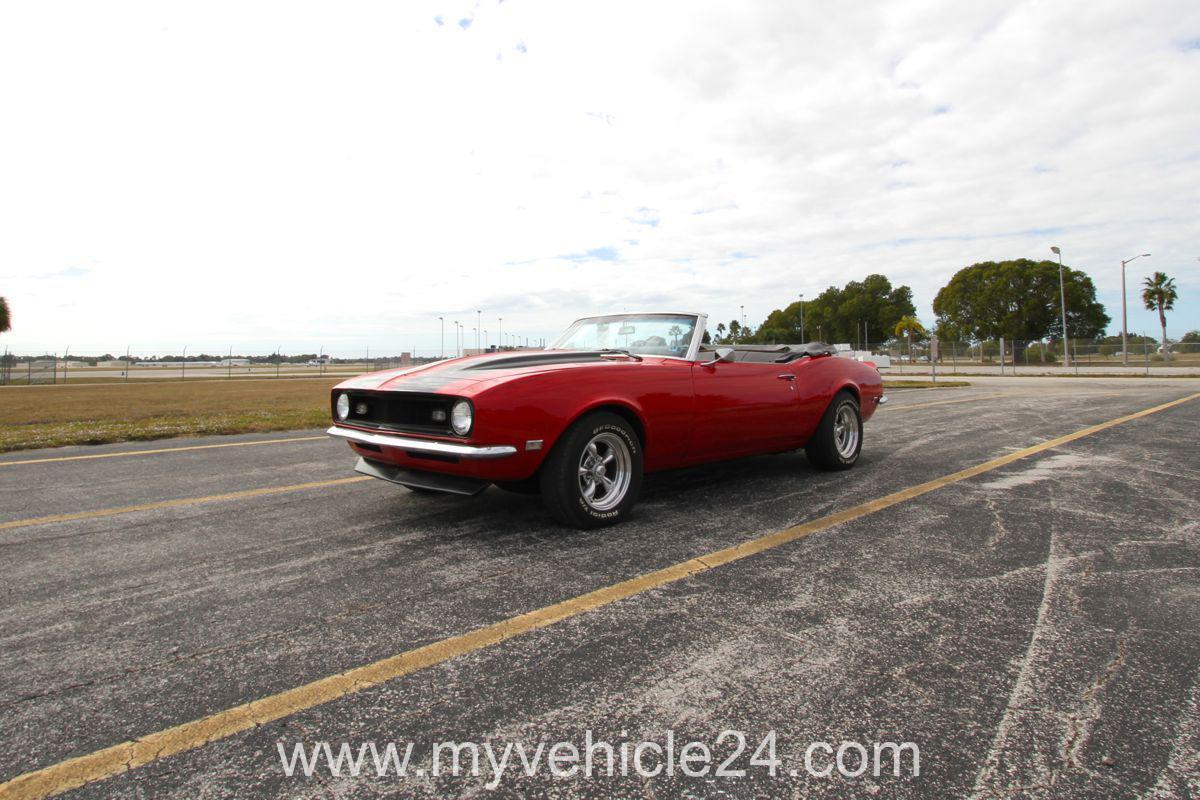 1968 Chevrolet Camaro Convertible 034 Pic Main Myvehicle24 Us Cars Muscle