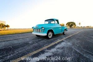 Pic 02 - 1955 Chevrolet 3100 Pickup - myVEHICLE24 - US-Cars, Muscle Cars, Classic Cars, Motorcycles & Boats