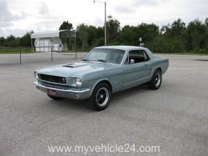 Pic Main 01 - 1965 Ford Mustang - myVEHICLE24 - US-Cars, Muscle Cars, Classic Cars, Motorcycles & Boats
