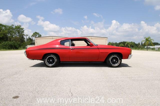 Pic 14 - 1972 Heavy Chevy Chevelle - myVEHICLE24 - US-Cars, Muscle Cars, Classic Cars, Motorcycles & Boats, Worldwide Shipping